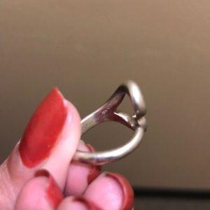 Tiffany heart silver ring